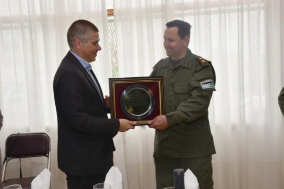 Cambio de mando en la VII Región de Gendarmería Nacional