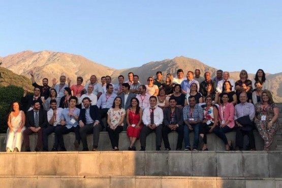 Con el apoyo de la Unión Europea, Szymankiewicz participó de Seminario en Chile