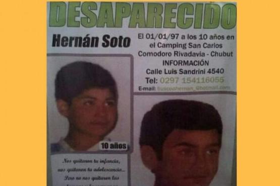 Marcha: Se cumple otro año de la desaparición de Hernán Soto