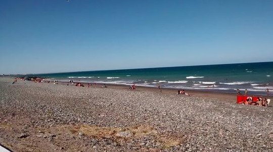 Despliegan un intenso operativo de control en la costa de Playa Unión