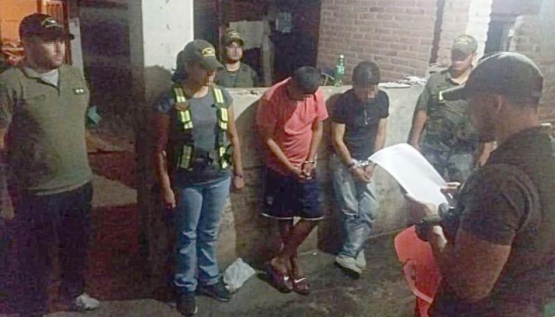 Los procedimientos lo concretó Gendarmería Nacional en localidad jujeña de Perico.