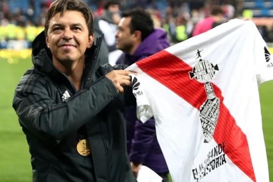 Marcelo Gallardo ganó el premio a mejor entrenador de América de 2018