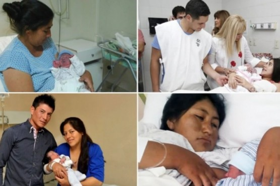 Ocho recién nacidos se disputan el título del