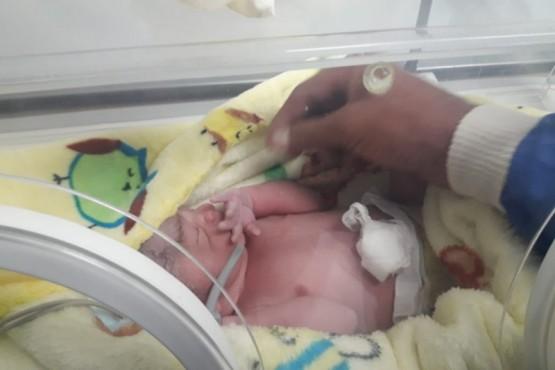 El primer bebé lasherense