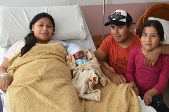 El primer bebé del nuevo año llegó a las 2:55