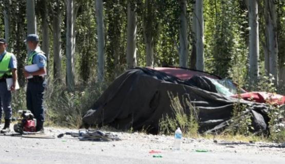 Neuquén: tres muertos y cinco heridos tras un triple choque en la ruta 7
