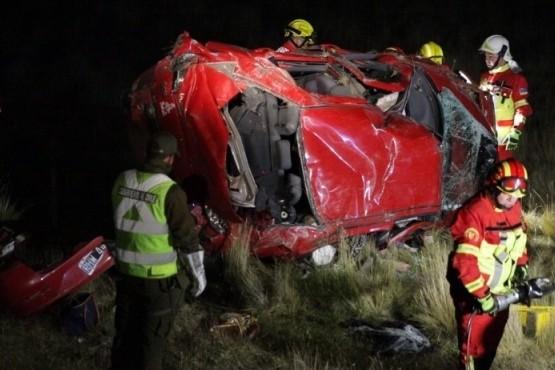 Tragedia: Falleció familia de Río Gallegos en ruta al norte de Punta Arenas