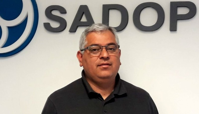 Andrés Álvarez, de SADOP.