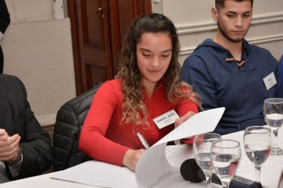 Estudiantes destacaron la oportunidad de aprender en el Yacimiento Las Vegas
