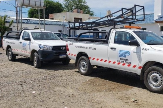 Servicios Públicos incorporó nuevas camionetas