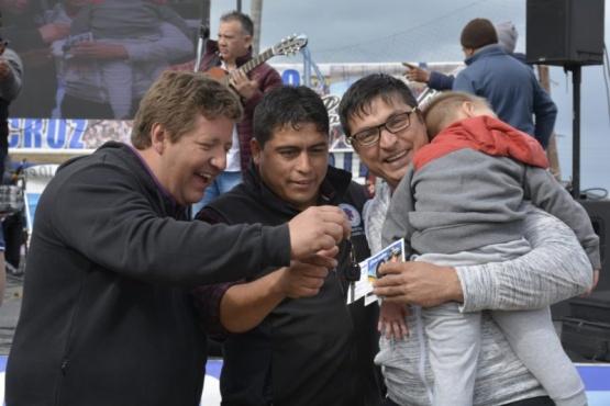 Luego de las fiestas Vidal saludó a sus afiliados y a la comunidad