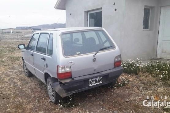 Apareció el auto robado en rotisería