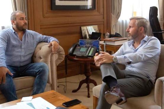 Reunión Prades-Frigerio: En unos días el Gobierno nacional traspasaría la Planta de Osmosis Inversa a Caleta Olivia