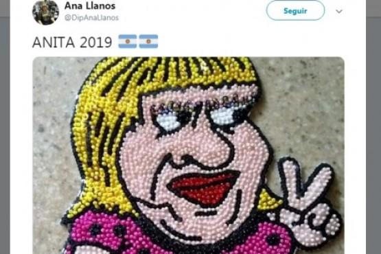 Llanos lanzó su campaña con una muñeca