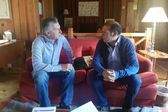Macri recibió al gobernador Gutiérrez