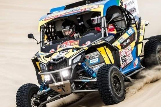 Tres pilotos patagónicos en el Dakar 2019