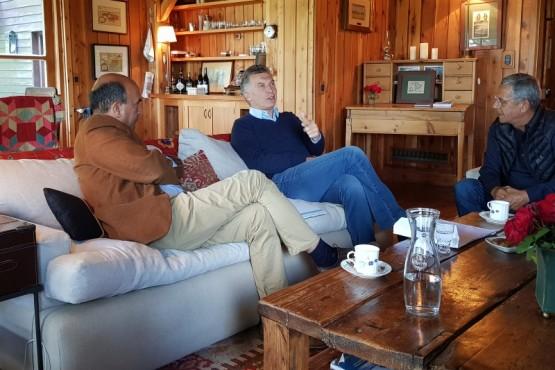 Macri recibió a Horacio Quiroga
