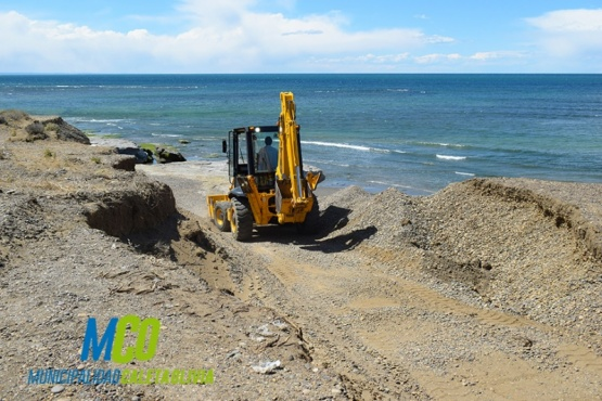 """Avanza el acondicionamiento del sector costero """"Las Roquitas"""""""
