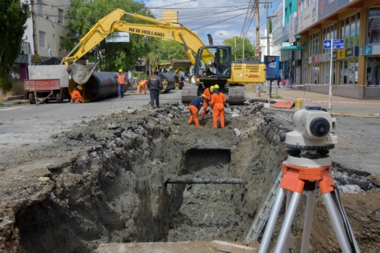 Calles cortadas por las obras de la Cuenca Sarmiento