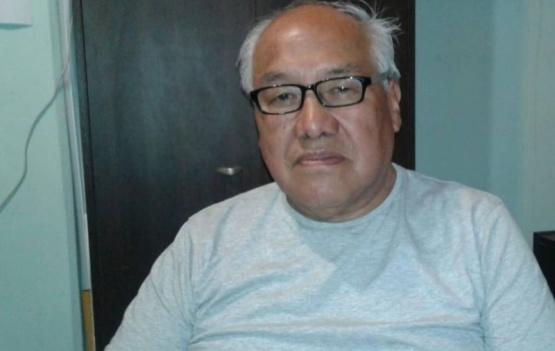 Martín Sajama, presidente del Centro de Jubilados y Pensionados de ATE.