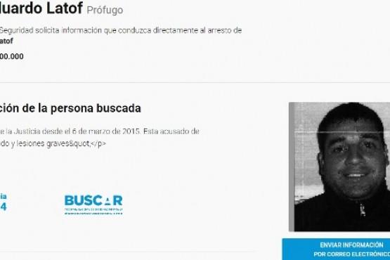 El programa BUSCAR mantiene vigente la recompensa de los sujetos acusados de un crimen en Río Turbio en 2015.