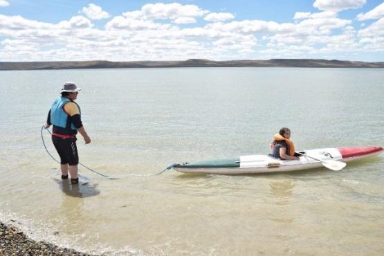 Hubo jornada de kayak en las colonias