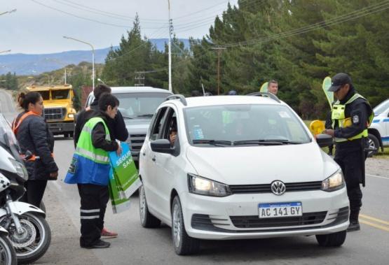 Fiesta de la Cereza: se controlaron mil vehículos