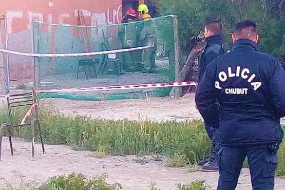 Se incendió una casa en Gaiman y murieron dos personas calcinadas