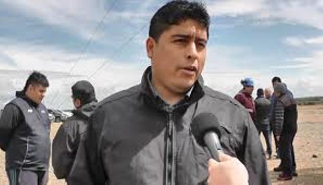 Claudio Vidal, secretario general de Petroleros Privados. (Archivo).