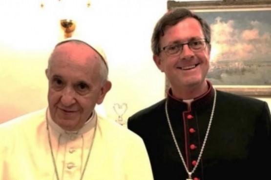 Fue designado por el Papa Francisco.