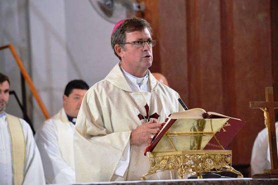 García Cuerva oficiará misas el jueves y viernes en Río Gallegos