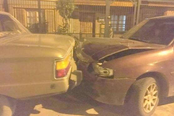Conductor en estado de ebriedad impactó contra un vehículo estacionado