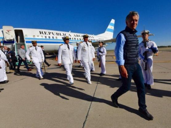 Macri cumple una intensa agenda en Puerto Madryn
