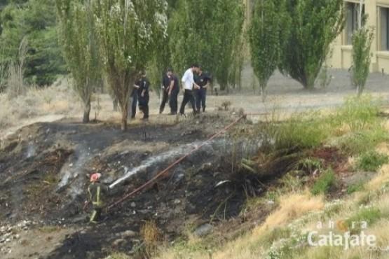 Bomberos combatieron tres incendios en pastizales