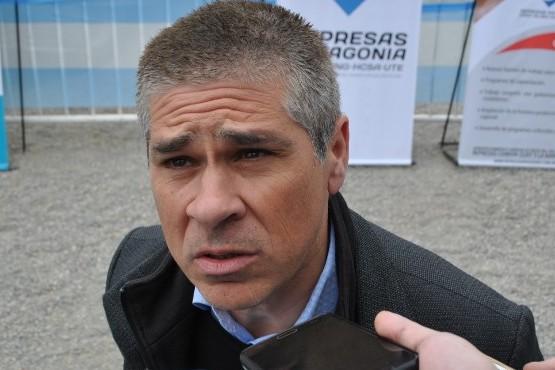 Pablo González en las represas. (Enviado especial: J.C.C)