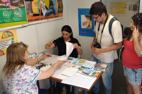 Se destacó la participación de Salud en la Fiesta Nacional de la Cereza