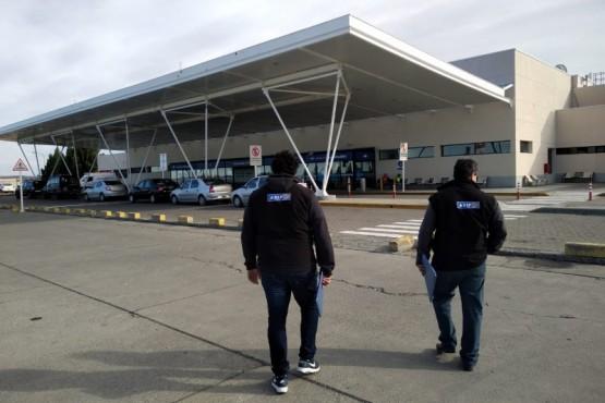 Se realizaron verificaciones en el Aeropuerto de Río Gallegos