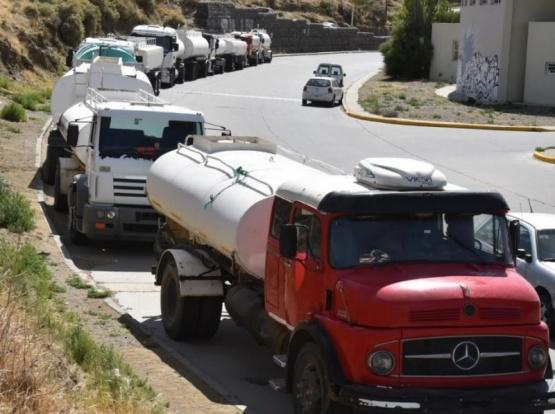 SP contrató ocho camiones cisternas para reforzar abastecimiento de agua