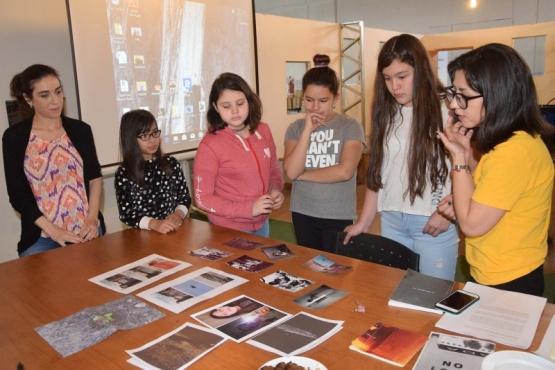 Comenzó el Taller de Fotografía para niños