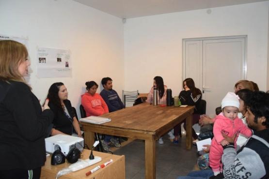 Se desarrolló el taller de fortalecimiento familiar