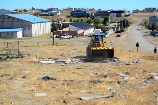 La Municipalidad de Caleta Olivia comenzó desarma casillas