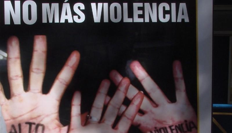 Si sos víctima de violencia de género denunciá.