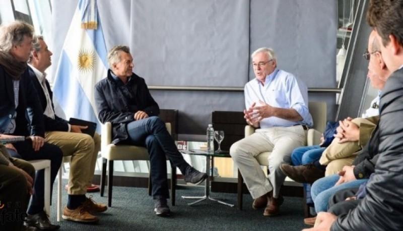 Macri recibió al sector ganadero de Santa Cruz