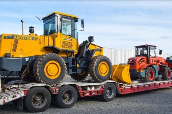 Municipio recibió maquinaria para la planta de transferencia de residuos