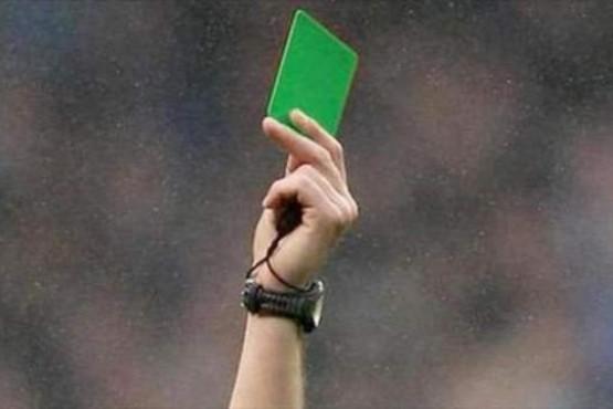 La AFA impulsa la tarjeta verde el fútbol infantil