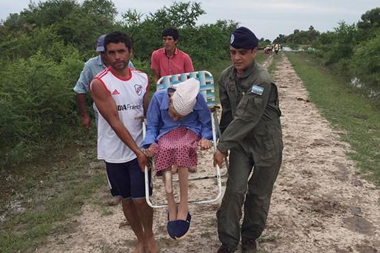 Más de 5 mil evacuados por las inundaciones