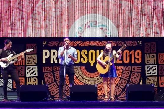 Duo Kosten pasó por el escenario mayor de Cosquín