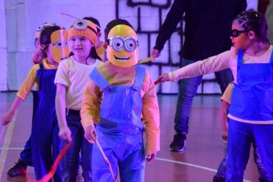 Juegos y festejos en el cierre del Primer Contingente de Colonias Inclusivas 2019