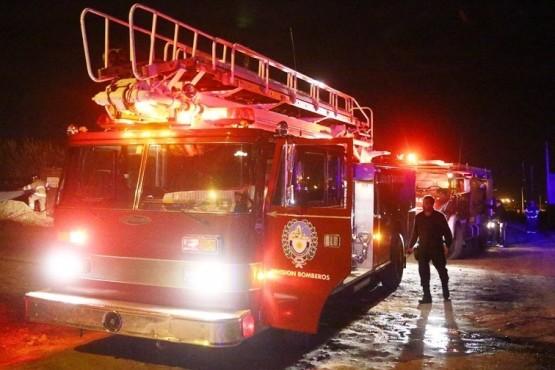 Una mujer de 55 años perdió la vida al incendiarse su casa