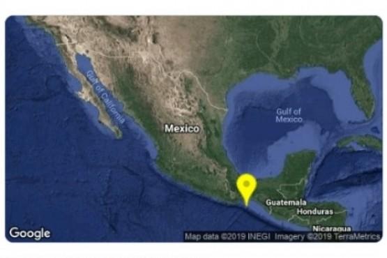 México tembló por un terremoto de 5,8 grados de magnitud en Oaxaca